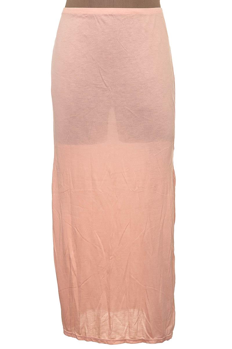 Falda Elegante color Salmón - Onda de mar