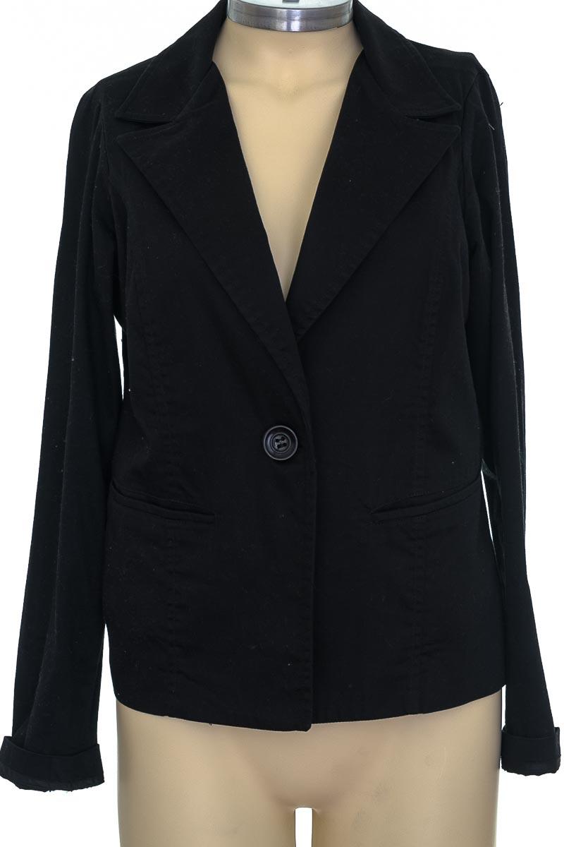 Chaqueta / Abrigo color Negro - FDS