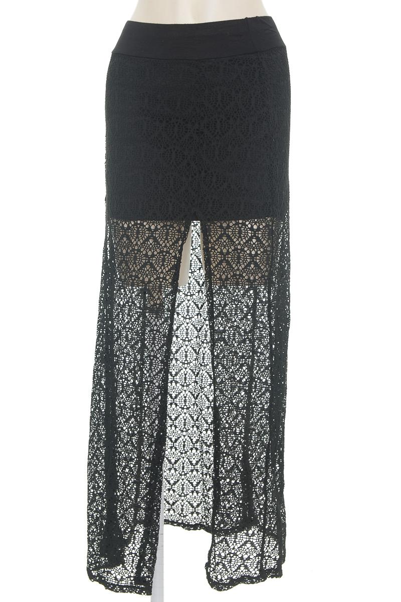 Falda color Negro - Marketing Personal