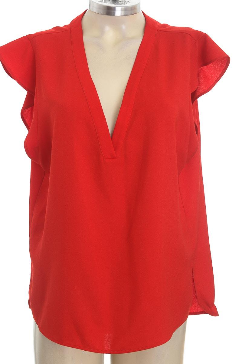 Blusa color Rojo - Zara