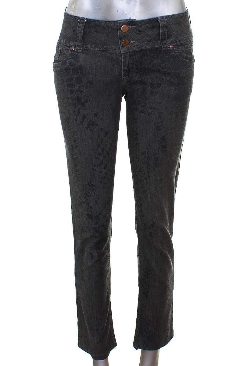 Pantalón Jeans color Gris - Silvia Tcherassi