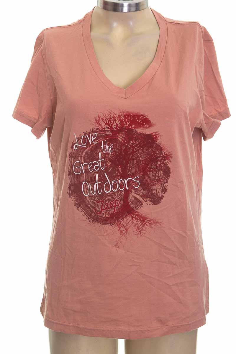 Top / Camiseta color Rosado - JEEP