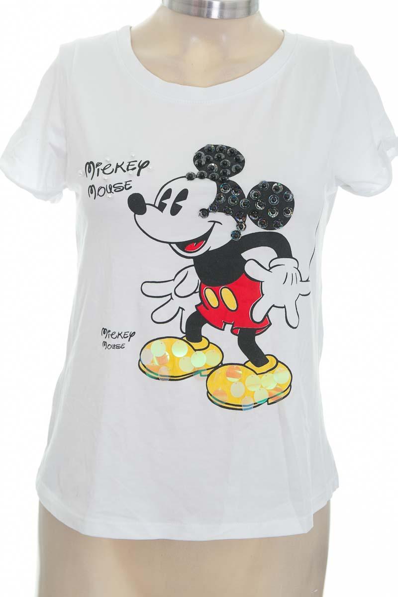 Top / Camiseta color Blanco - ANROSA