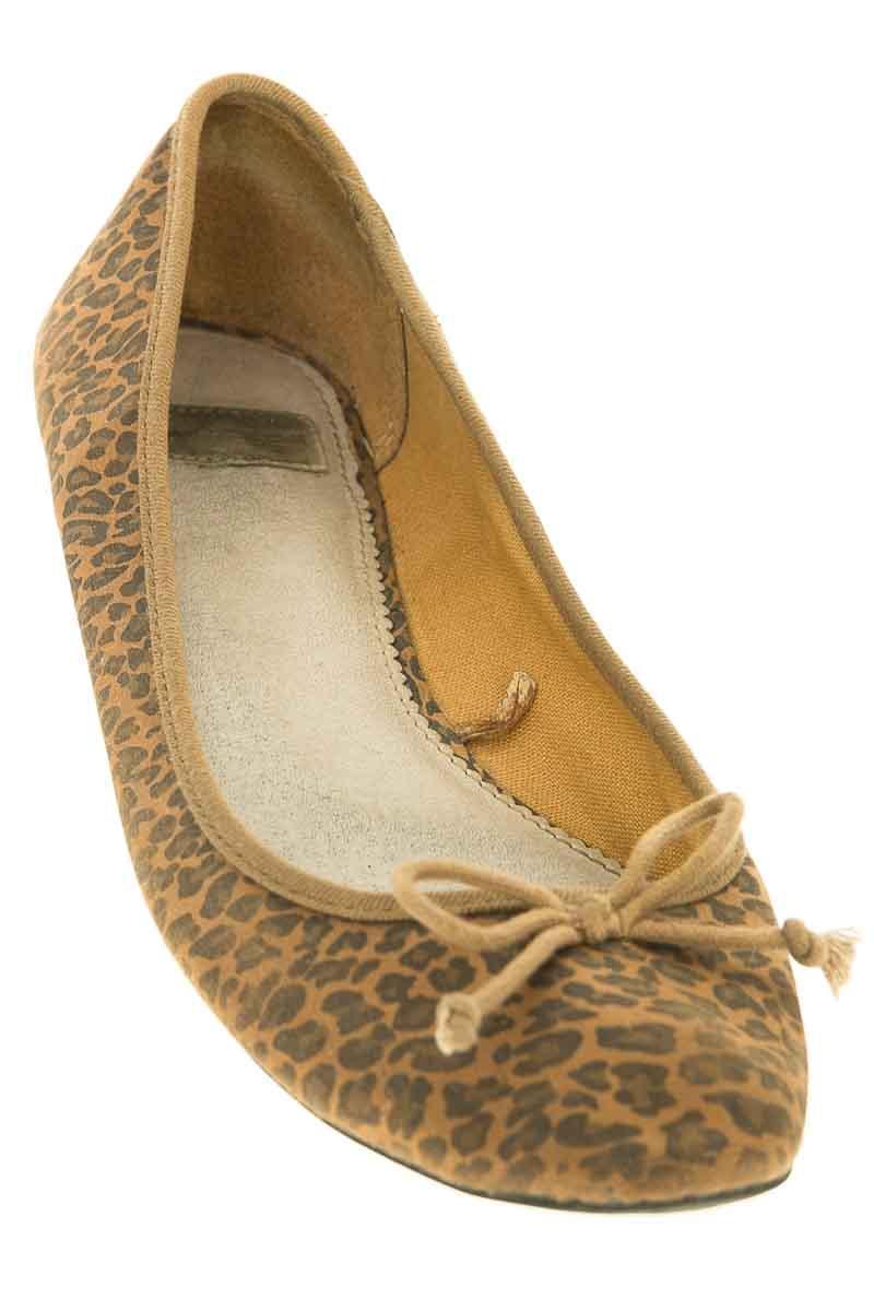 Zapatos Baleta color Café - Pull & Bear