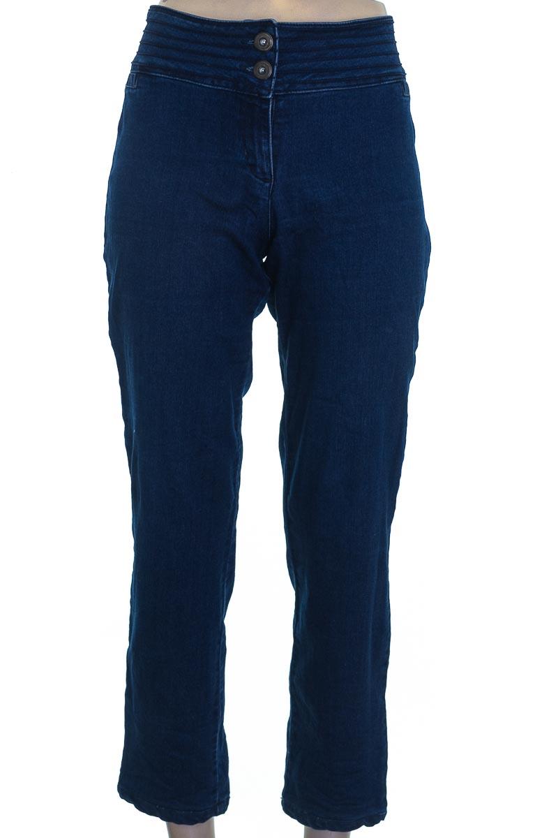Pantalón color Azul - Carolina Endara