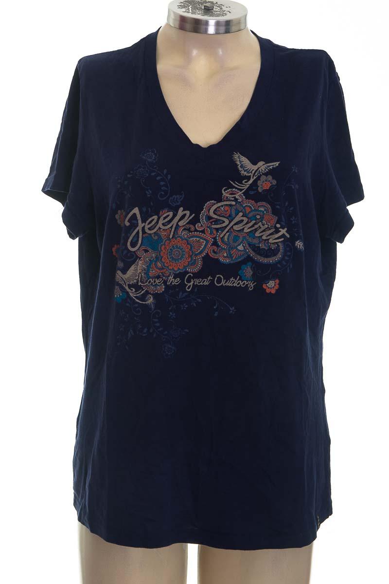 Top / Camiseta color Azul - JEEP