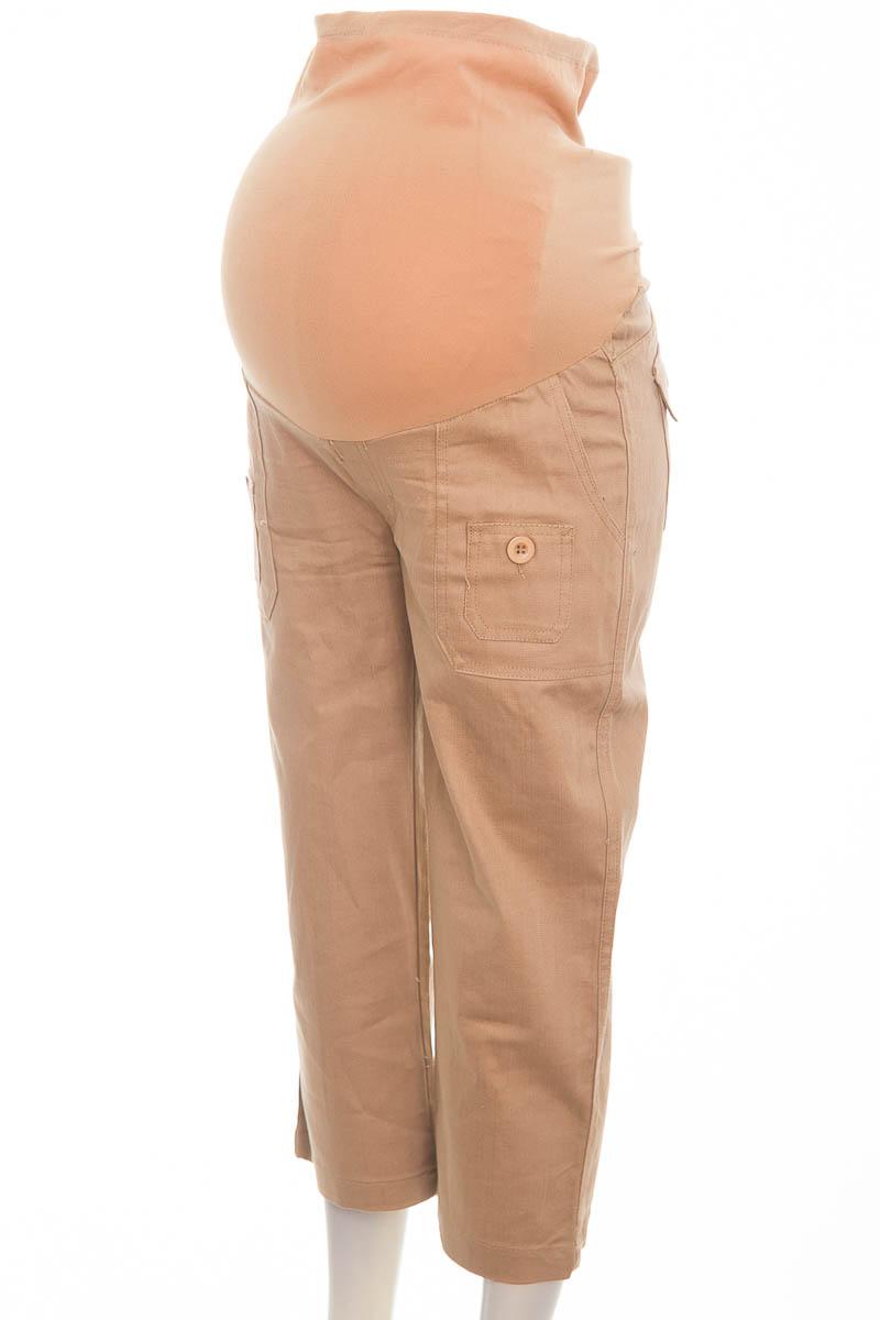 Pantalón color Café - Couture