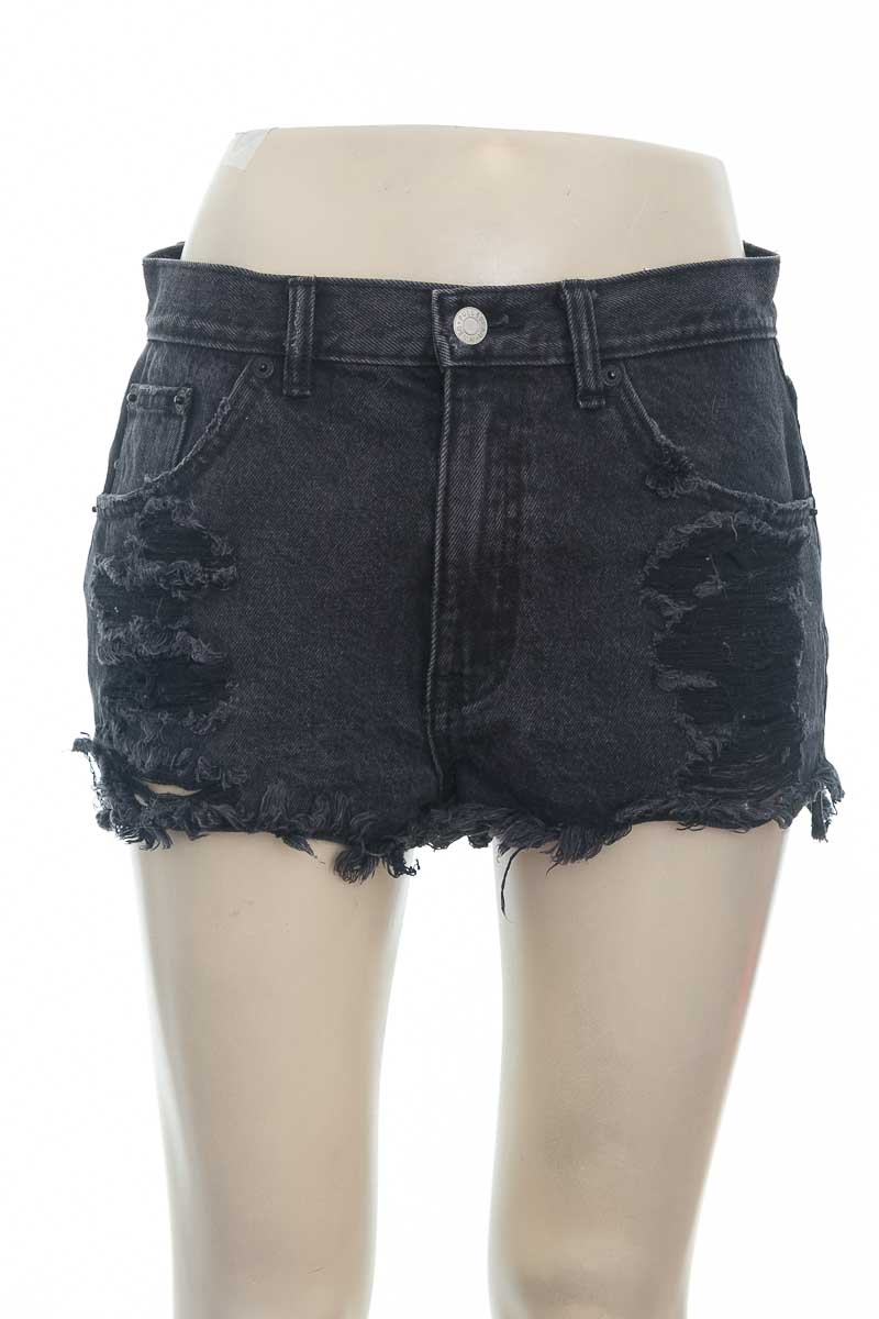 Short color Negro - Pull & Bear