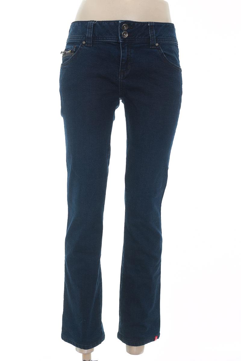 Pantalón color Azul - Esprit