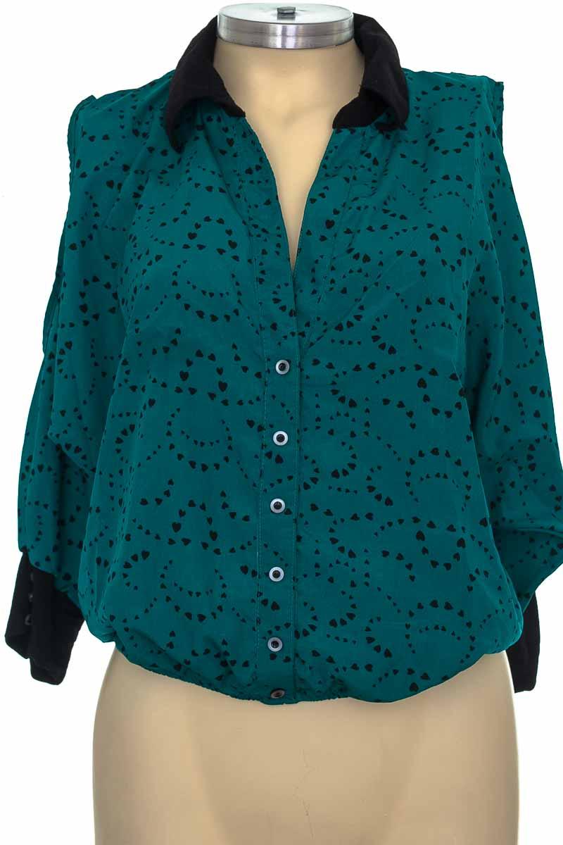 Blusa color Verde - Story Rose