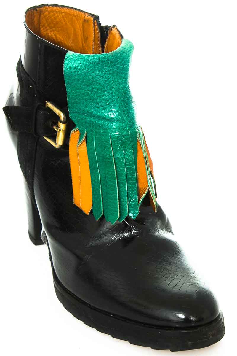 Zapatos Botín color Negro - Juana Francisa