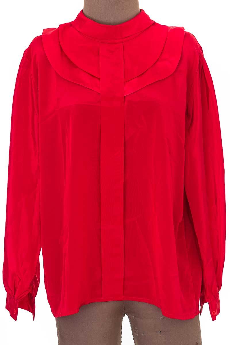 Blusa Formal color Rojo - Closeando