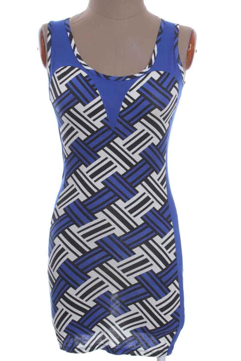 Vestido / Enterizo Casual color Azul - Style