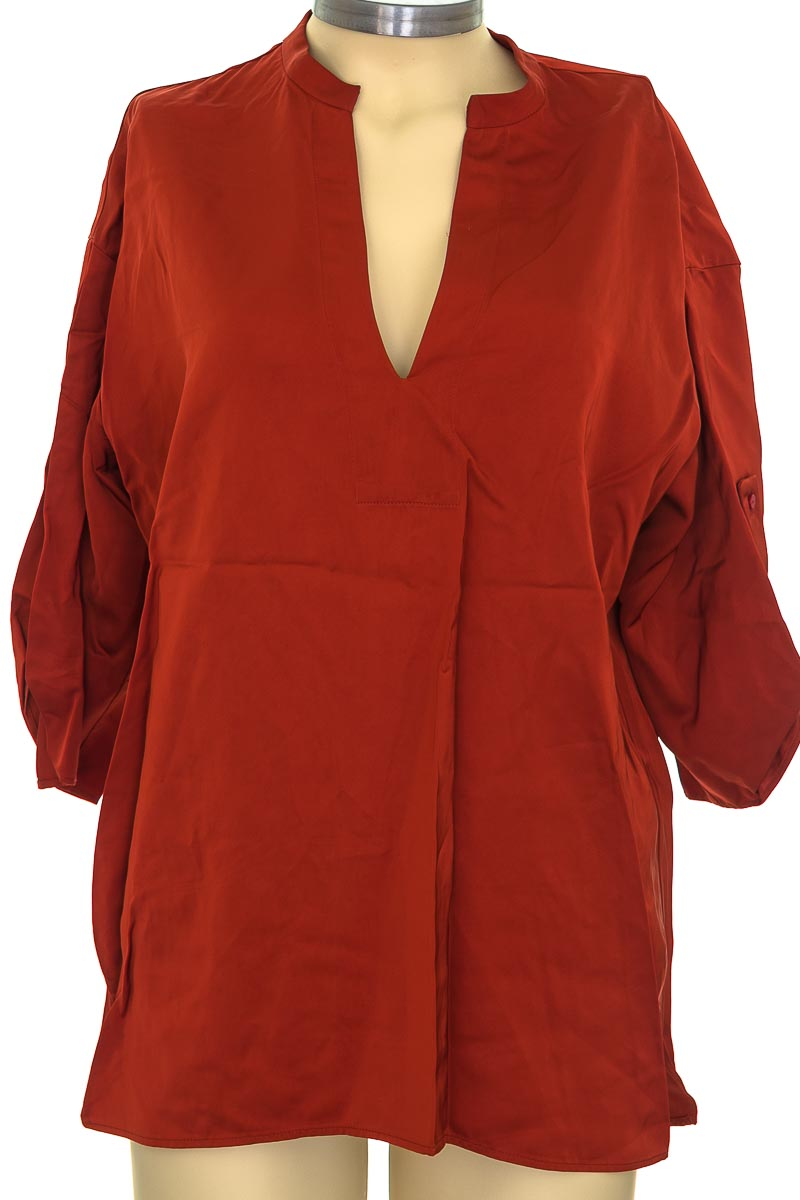 Blusa color Naranja - Zara