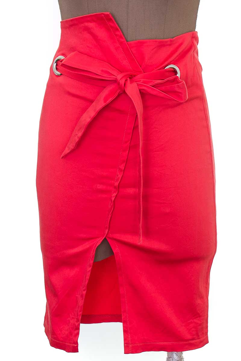 Falda Casual color Salmón - Blessme