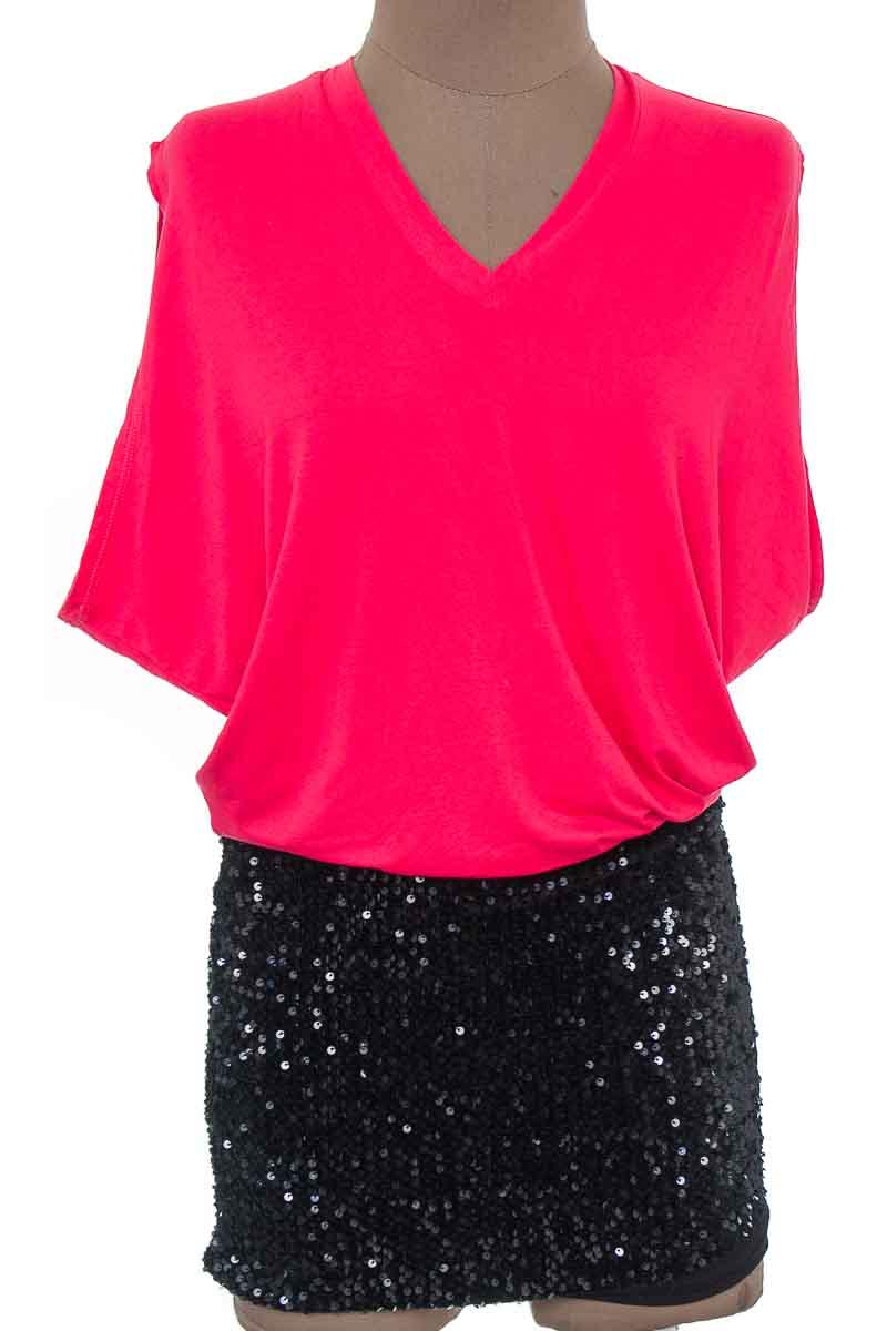 Vestido / Enterizo Casual color Rojo - Violeta