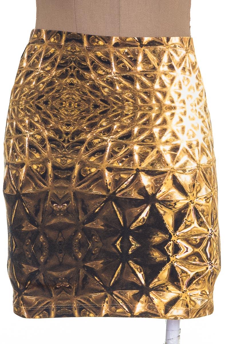 Falda Elegante color Amarillo - Colcci